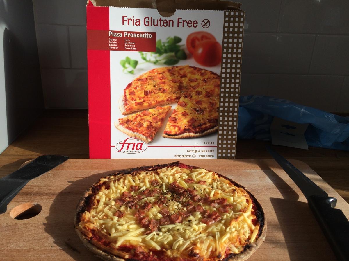 Fryspizza (Fria Gluten Free)